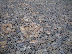 Габионы с бутовым камнем