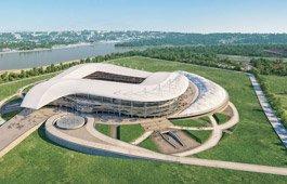 Строительство нового стадиона в Ростове-на-Дону