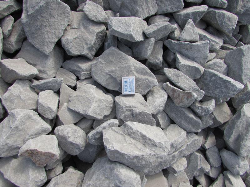 Бутовый камень фракции 70-150