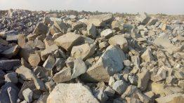 Негабаритный бутовый камень