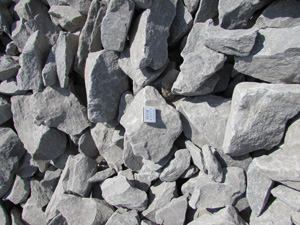 Бутовый камень фракции 150-300