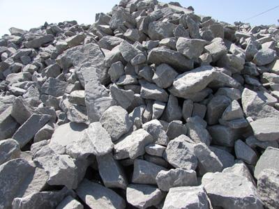 Бутовый камень фракции 120-150