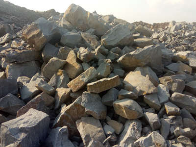 Фото негабаритного бутового камня
